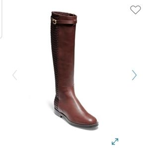 Cole Haan Abi Textured Shaft Riding Boot